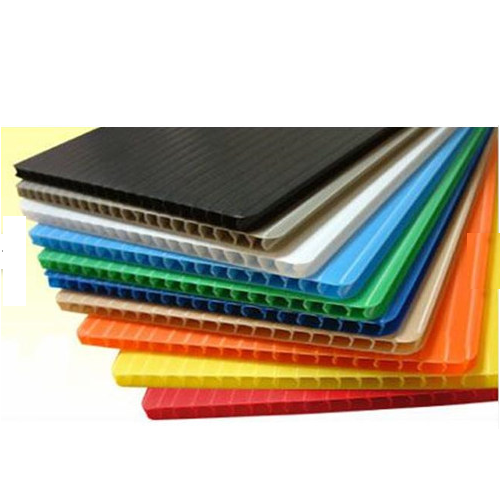 Corrugated Plastic Sheets - HDPE, ACRYLIC, Polyester Sheets